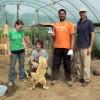 4 muddy shelter volunteers