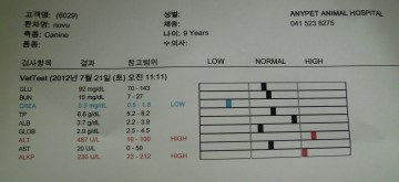 Blood test results - ALT figures were the big problem.