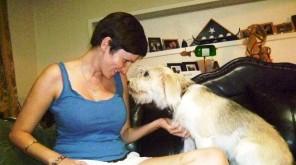 Kino & I, his foster mom.